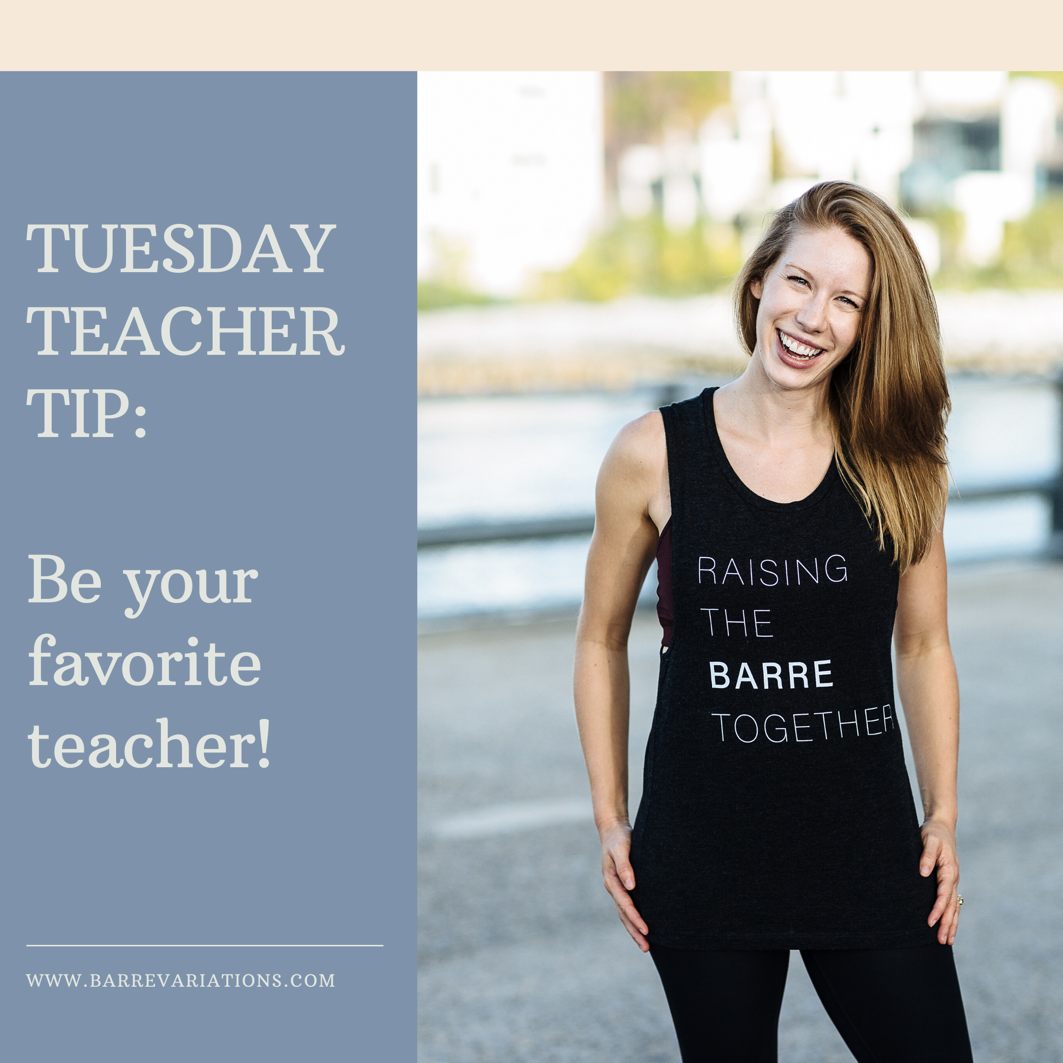 barre variations instructor