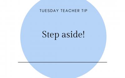 Step Aside!