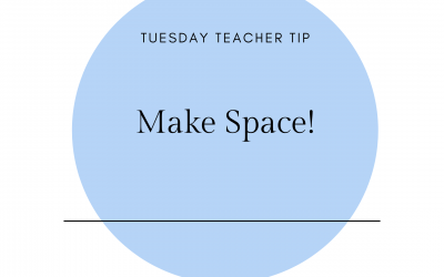 Make space!