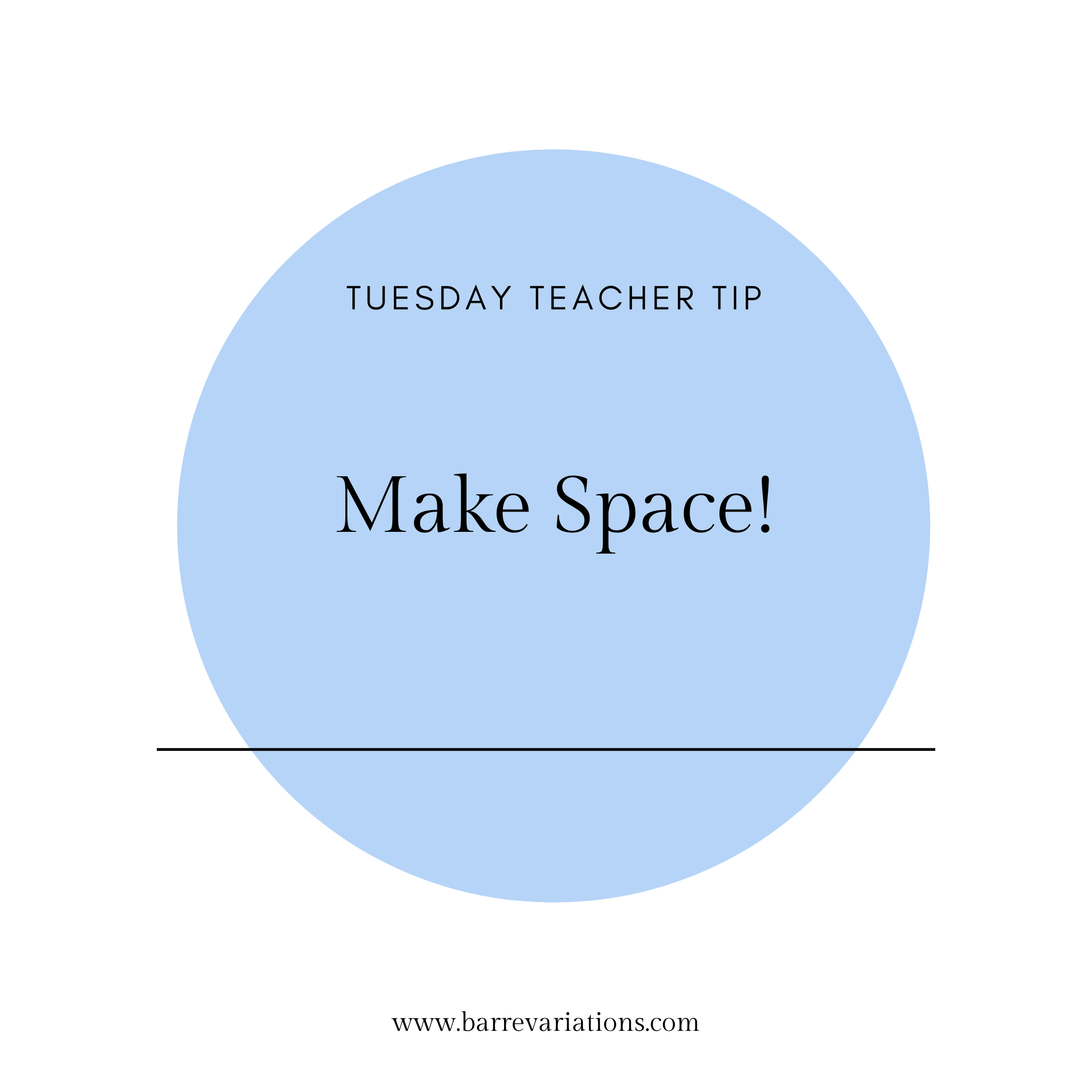 """Image that says """"make space!"""""""