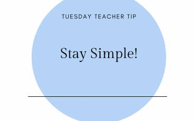 Stay simple!