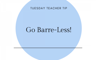 Go barre less!