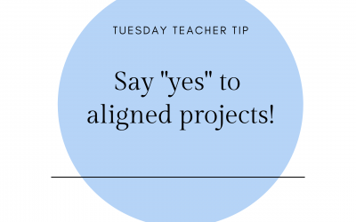 Say Yes to Aligned Projects!