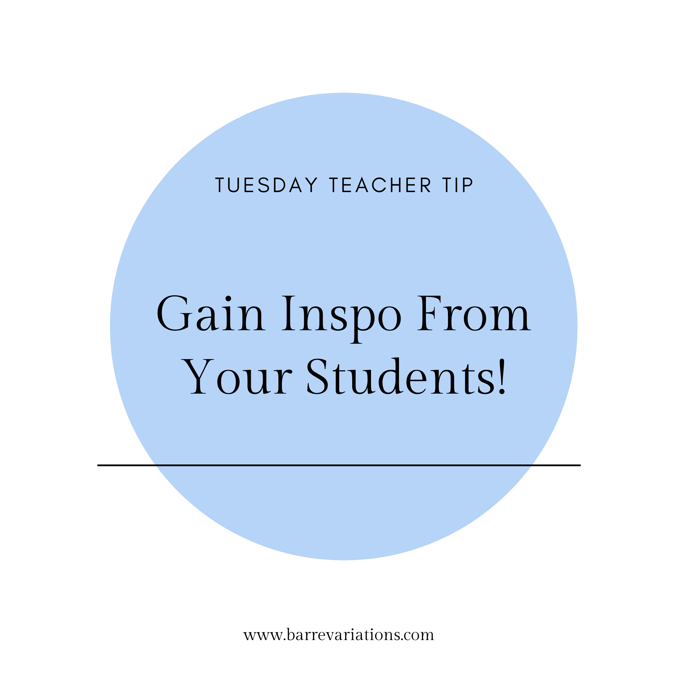Gain inspo from your students image