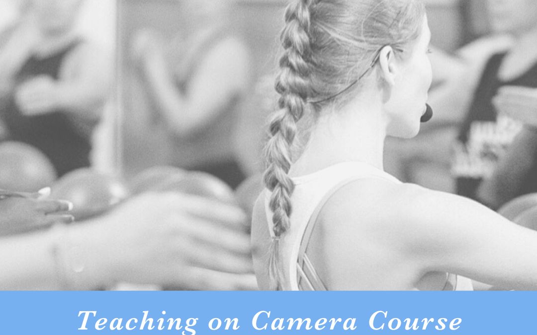 Image for Teaching on camera course