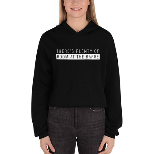 Plenty of Room Crop Hoodie