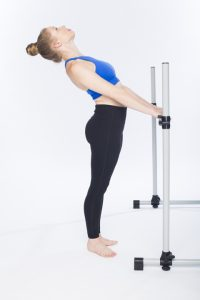 spinal extension at the barre photo