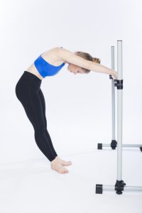 spinal flexion at the barre photo